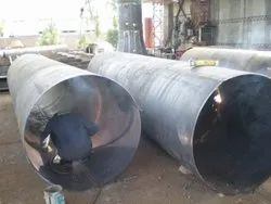 Mild Steel Manufacturing Pipe Fabrication, For Industrial