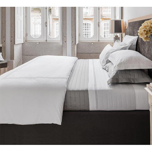 Plain Egyptian Cotton Bedsheet Set Gsm 100 150