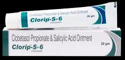 Clobetasol Propionate, Salicylic Acid Ointment ( Clorip -S - 6 Ointment)