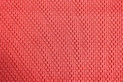 Red Mafatsons Polyester Dyed Fabric