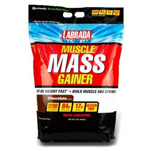 Labrada Muscle Mass Gainer, Packaging Type: Pouch