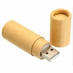 Eco Friendly Paper Tube Shaped USB Flash Drive