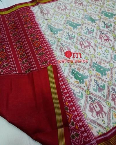 Patola Weaving Silk Saree