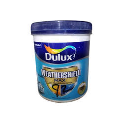 Dulux 10 L Weathershield Max Paints, Packaging Type: Bucket
