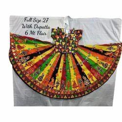 NH2D Cotton Designer Gujarati Chaniya Choli With Dupatta