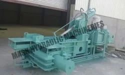 Triple Action Scrap Baling Machine Economy