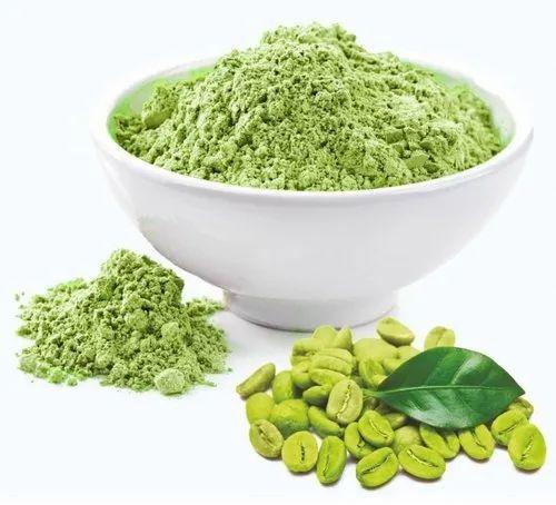 arabica green coffee beans powder