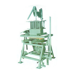 Hand Operated Concrete Block & Bricks Making Machine