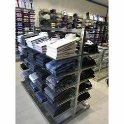 Mid Floor Garments Table