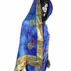 Silk Zari Nazneen Saree With Blouse Piece