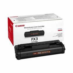 Canon FX3 Monochrome Laser Toner Cartridge