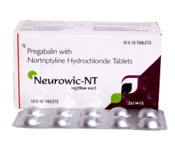 Pregabalin 75mg & Nortriptyline 10mg Tab