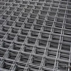 Silver Wire Mesh Reinforcement, Material Grade: Mild Steel, ss, Thickness: 5mm -12 Mm