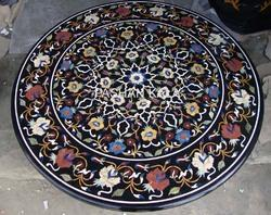 Stone Inlay Coffee Table Tops