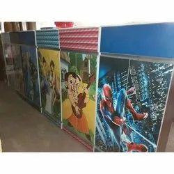 Cartoon Kids Cupboard