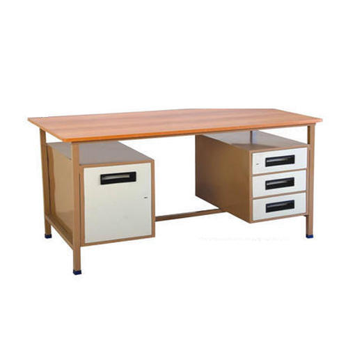 Rectangular 2 Side Draw Office Table Size 1200 X 600 X 750mm Rs