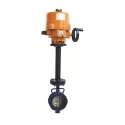 Electric Actuator Operated Extended Stem Butterfly Valve