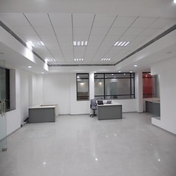 Showroom Grid False Ceiling Work