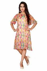 Tabby Flowy Sheer Dress