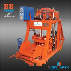 Hydraulic Operated Block Machine