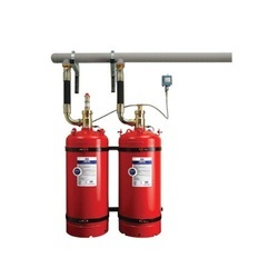 Indirect High Pressure Fire Suppression Systems