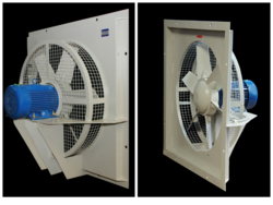Square Plate Wall Axial Flow Fan