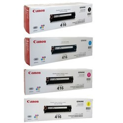 Canon 416 Black& Color  Toner Cartridges