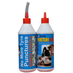 Balaji Enterprises Anti Puncture Liquid Tyre Sealant (Oil based with fiber) 500 ml, Packaging Type: Plastic Bottle