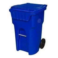 HDPE Blue Otto Plastic Dustbin