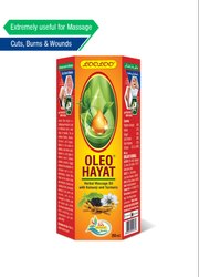 Kalonji And Turmeric 200 ml Looloo Oleo Hayat Herbal Massage Oil , Packaging Type: Bottle