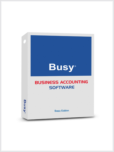 Busy Basic Edition Accounting Software