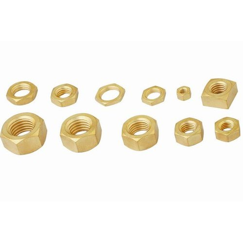 Brass Nuts, Packaging Type: Packet