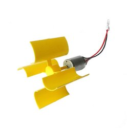 Keproving 2pcs Mini Vertical Wind Turbine Generator Model