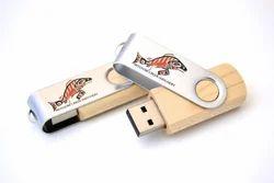 High Quality Wooden Swivel USB