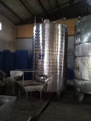 Stainless Steel Storage Tanks and Ss Jacketed Tank