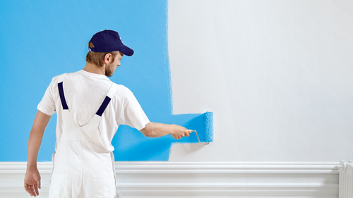 Wall Painting Service, Painting Contracting Services, Wall Design Services,  PU Wall Painting, Home Wall Painting, House Wall Painting in Sector 16,  Faridabad , Pankaj Goyal Interior | ID: 20039635573