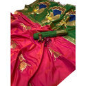 Ladies Multicolor Silk Saree