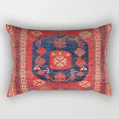Home Decor Printed Lumbar Pillow Cover