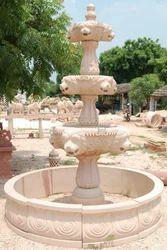 Classic Sandstone Fountain