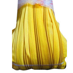 Yellow Zipper Chain Roll