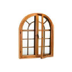 Modern Wooden Window Door
