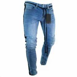 Casual Wear Mens Blue Denim Jeans
