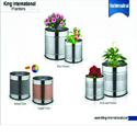 Stainless Steel Planter Bin