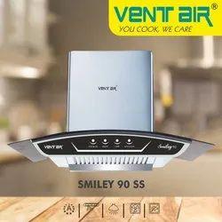 Smiley 90 SS Ventair Kitchen Chimney