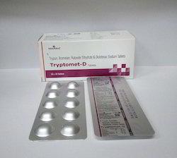 Trypsin, Bromelain, Rutoside Trihydrate & Diclofenac Sodium Tab