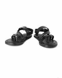 Casual Van Heusen Black Sandals, Size: 7, 8