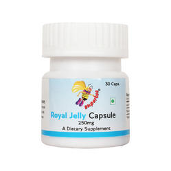 Superbee Royal Jelly Capsule 250mg (a Pack Of 30 Capsules)