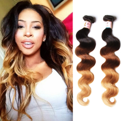 Indian Virgin Ombre Hair