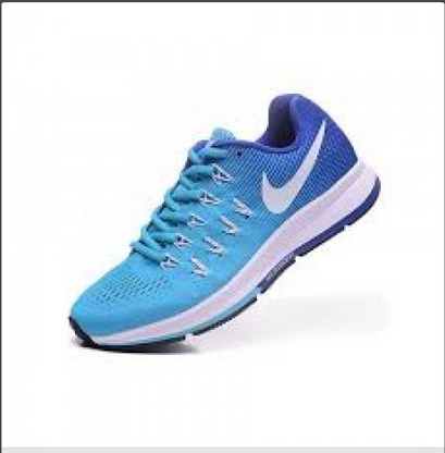 Blue And Black Men Nike MV80777 Zoom Pegasus 33 Running Shoes Replica d9d827ddc628b