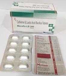 Cefixime 200mg Lactic Acid Bacillus Tablet